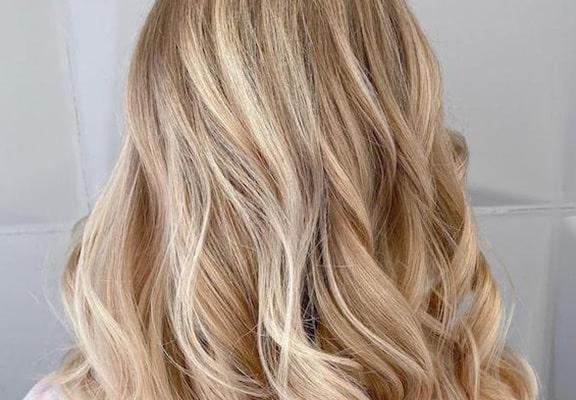 رنگ موهای بلوند