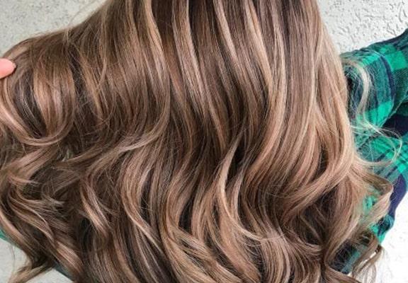 رنگ موی قهوه ای